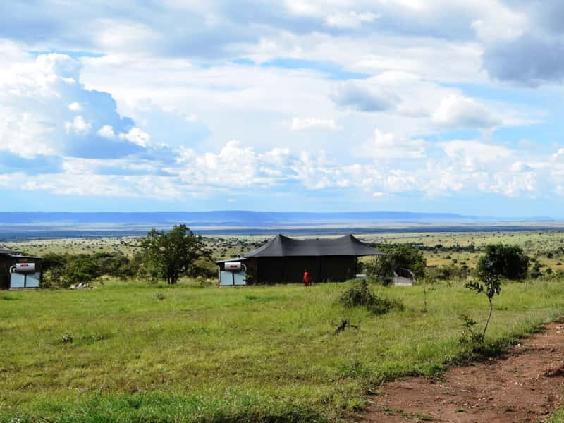Maramara tented lodge with solar panels installed by Gadgetronix