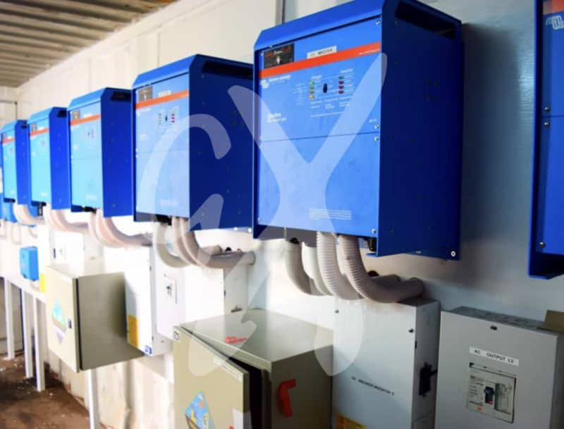 Solar inverters installed at Maternity Africa