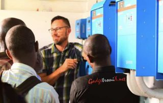 victron energy Training session in Arusha