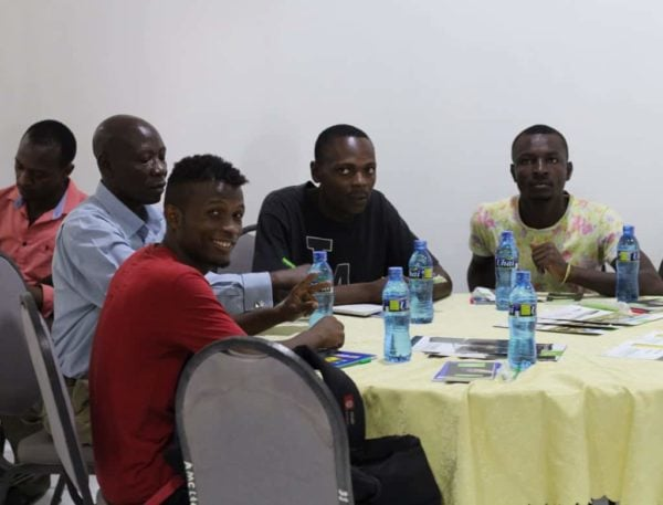 Participants during the centurion training in Arusha, Tanzania