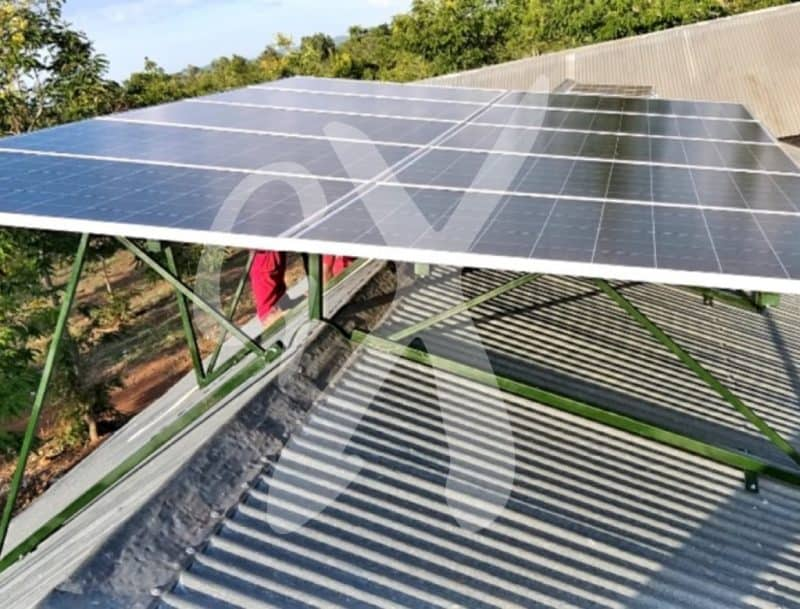 Solar panels installed at Illagala health center