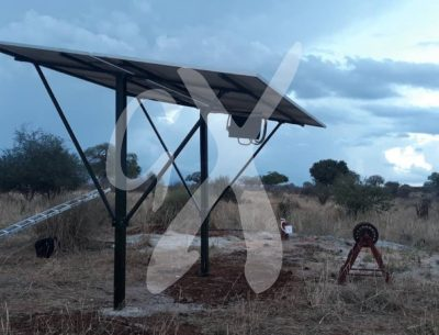 Solar power system at Nasikia camps