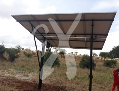 Solar panel system installed by Nasikia camps