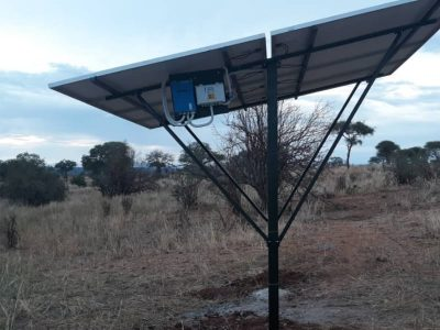 Solar panels installed by Nasikia camps