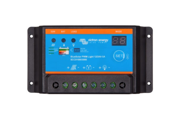 Victron bluesolar pwm-light charge controller 10a/20a/30a 12/24v