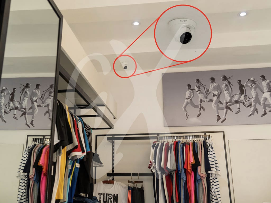 Security system - boutique shop