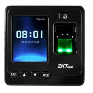 Zk teco acess control and time attendance system