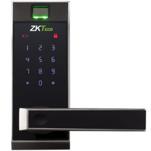 Zkteco al20db lever lock with touch screen and bluetooth-fingerprint